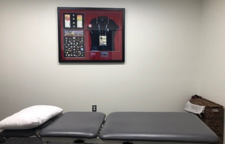 physical therapy treatment room